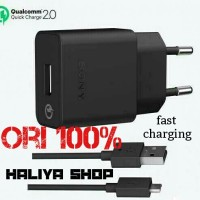 harga charger sony fastcharging 2.0 UCH10 original 100% z2 z3 z4 z5 dll Tokopedia.com