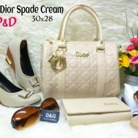 Tas Paket Sepatu 5in1 / Tas Wedges Boot Sandal 5 in 1 Dior Spade