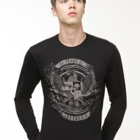 Clearance Sale - Garuda Urban Male Tees LS - Black