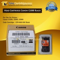 Head Printer Cartridge Canon G1000 G2000 G3000 GI-790 Black Original