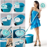ALAT PEL LANTAI 360 DERAJAT SUPER MAGIC MOP ALAT RUMAH TANGGA BATHROOM