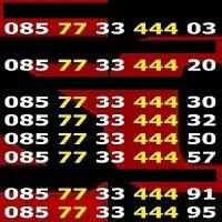 harga 085 77 33 444 xx KARTU PERDANA NOMOR CANTIK INDOSAT IM3 OOREDOO 4G LTE Tokopedia.com
