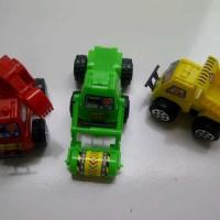 3 Mobil Truk Konstruksi Truck Molen Kontraktor Car Mainan Anak Edukasi