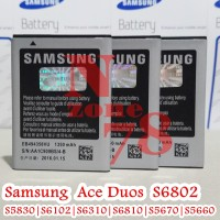Baterai Samsung Galaxy Ace Duos s6802 Original 100% Sein