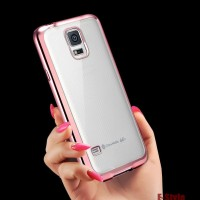 TPU SHINING Samsung Galaxy S3 S4 S5 CASE HP Silicone Soft Clear thin