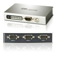 ATEN UC2324 4 PORT USB to Serial RS-232 HUB / 1 USB IN TO 4 SERIAL OUT