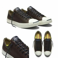 Converse Jack Purcell Remaatered Tumbled Lunarlon Leather Ox Brown