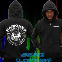 Zipper Hoodie Sweater Ramones - Benz Clothing