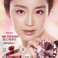 Jual PRECIOUS BB Vitamin powder SPF30 #21LIGHT - PINK JAR Murah