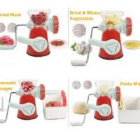 Meat Grinder manual penggiling daging sayuran buah meat mincer