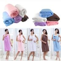 harga Wearable Baju Handuk Kimono Mandi Bath Towel Dress Sarung Multifungsi Tokopedia.com