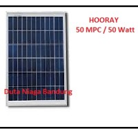 Solar Cell 50watt. Solar Panel Solar Surya HOORAY