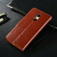 Jual XIAOMI REDMI NOTE 4 - Hardcase Flip Cover Premium Wallet Case Leather Murah