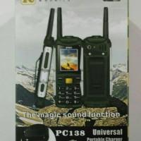 harga hp prince pc 138/ prince pc138 / prince pc-138 / powerbank 5000mah Tokopedia.com