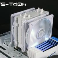 Coolink / Cooler Enermax ETS-T40F-W / ETST40FW - 12Cm Dual Fan WHITE