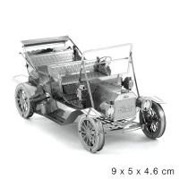 Mainan edukatif 3d puzzle metal mobil ford vintage car