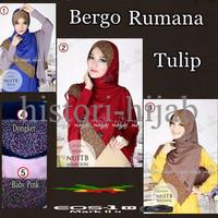 EXCLUSIVE Jilbab Bergo Rumana Tulip / Bergo Rumana Tulip TERLARIS