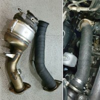 Downpipe Toyota Innova /Fortuner Turbo diesel 2016 2GDFTV with Dei