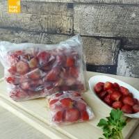 Jual Frozen Strawberry/ Buah beku stroberi Murah