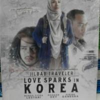 Buku Novel National Best Seller : Jilbab Traveler Love Sparks In Korea