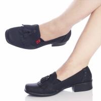 harga sepatu murah wanita cewek KICKERS pantofel guru kerja kuliah dokter Tokopedia.com