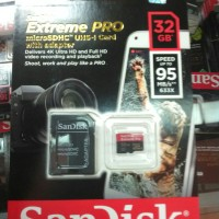 MICRO SD CARD SANDISK EXTREME PRO 32 GB