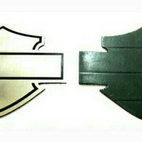 Jual PROMO !!! Emblem Harley Davidson Bahan Metal - 1022 Murah