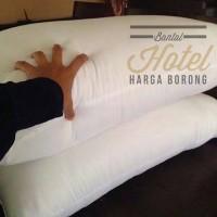 Jual bantal cinta tidur kepala hotel silicon / silikon empuk dan murah Murah