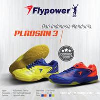Sepatu fly power plaosan 3 /sepatu badminton flypower