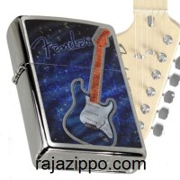 Zippo 29128 Fender Original Made In USA | Stok Lengkap & Resmi