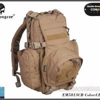 Emerson EM5813 Yote Hydration Assault Pack Shoulder CB Brown Tas