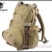 Emerson EM5813 Yote Hydration Assault Pack Shoulder Khaki Tas