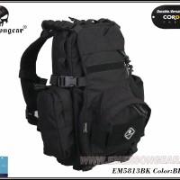Emerson EM5813 Yote Hydration Assault Pack Shoulder BLACK Tas Hitam