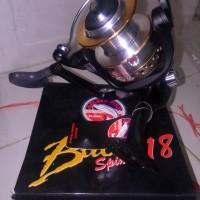 Reel Golden Fish Bull Spin 718 kerekan katrol pancing spinning metal