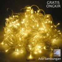 Jual Lampu Natal LED / Twinkle Light WARM WHITE (KUNING) Murah