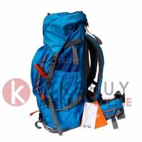 harga Tas Ransel Carrier Eiger Rhinos 1242 Blue 45l + Rain Cover Tokopedia.com