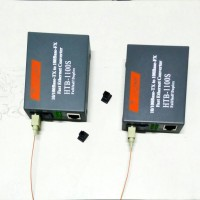 Media Converter 25KM SC 10/100Mbps HTB-1100S A/B 1Pair (Lose pack)