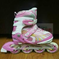 Sepatu Roda Anak Inline Skate YH A002 - Pink
