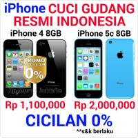Apple iphone 4 8GB / ex garansi erajaya / BNOB