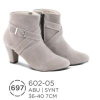 harga sepatu boots wanita distro azzura / high heels boot pesta modis gaya Tokopedia.com