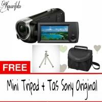 Handycam Sony CX405 Free Mini Tripod + Tas Sony original