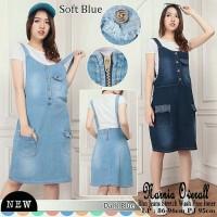Overall jeans narnia skirt jumpsuit rok with inner werpak korean style