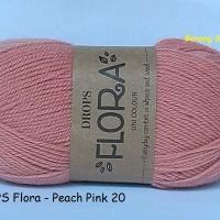harga DROPS Flora pink salem - benang rajut impor/import wol/wool alpaca Tokopedia.com