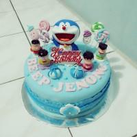 Kue ulang tahun doraemon karakter