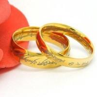harga Cincin Lord Of The Ring Gold / Cincin Titanium Original Tokopedia.com