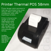 Printer Thermal POS 58mm - Printer Struk QPOS