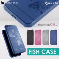 OPPO F1/S A59 ORIGINAL COCOSE FISH | COVER TPU | CASE HP|