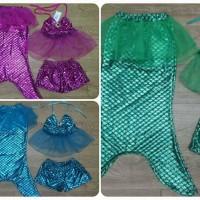 harga Swimsuit/baju Renang Anak 3in1 Mermaid Putri Duyung Tokopedia.com