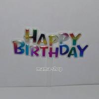 Tusukan Cake Topper Happy Birthday / Hiasan Kue Ultah