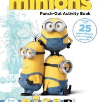 Jual MINIONS: BUILD YOUR OWN MINION PUNCH-OUT ACT BOOK Murah